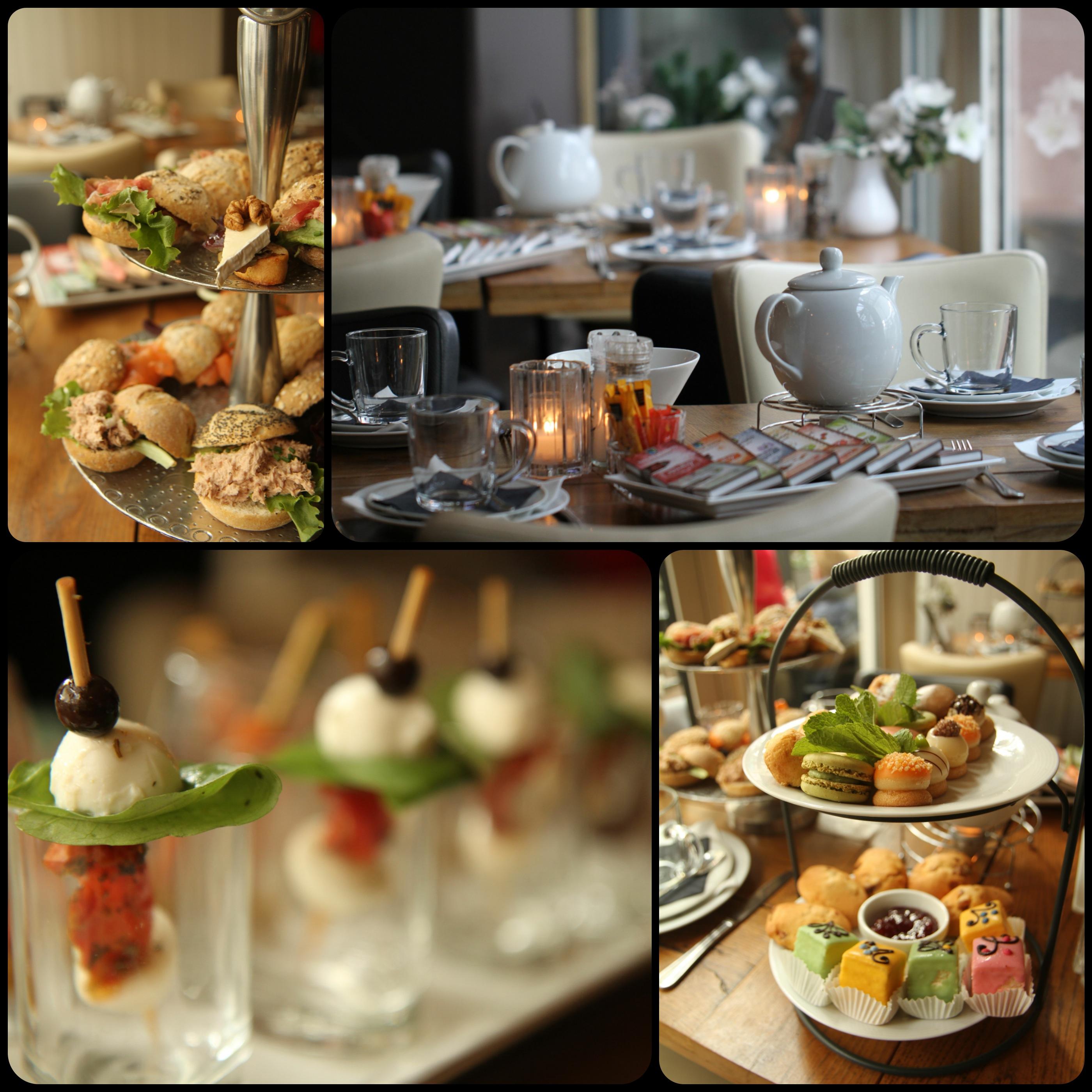 High Tea Collage